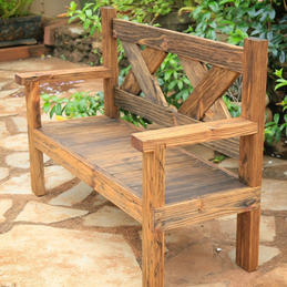 Rustic Bench