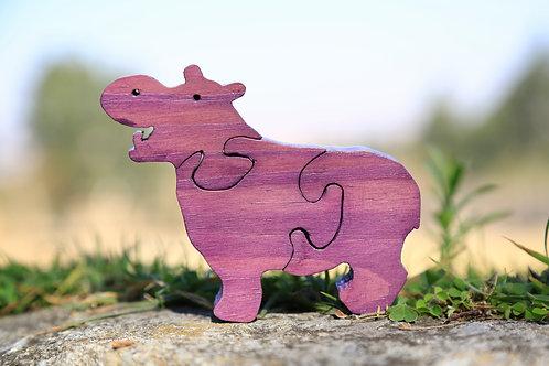 Mamma Hippo Puzzle