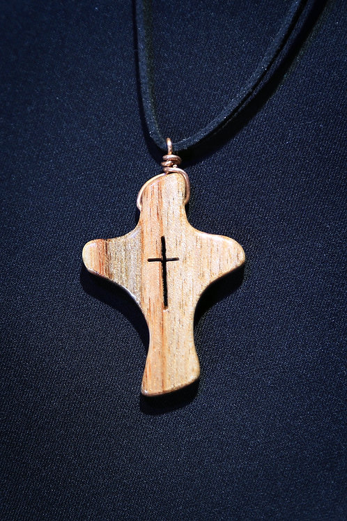 Comfort Cross Necklace
