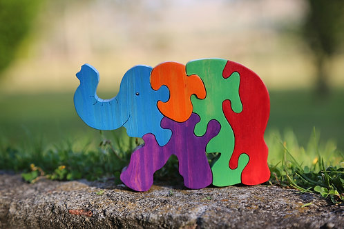 Elmer Elephant Puzzle