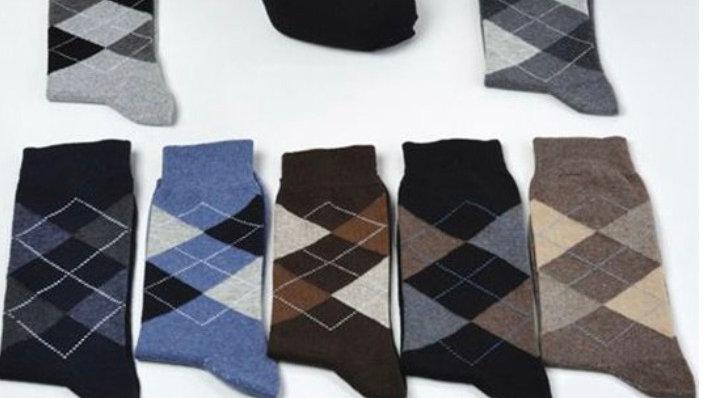 Cotton Diamond Socks