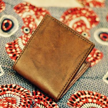 Porte-monnaie brun