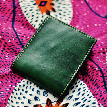 Porte-monnaie vert