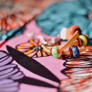 Bracelet cuir&perles