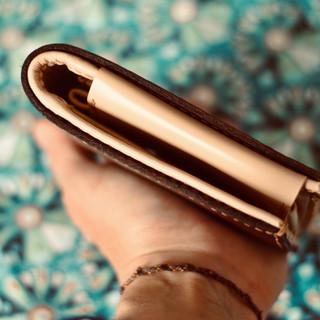 Porte-monnaie chocolat