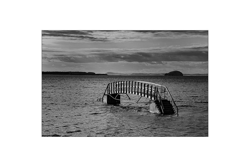 Belhaven Bridge Flood Tide