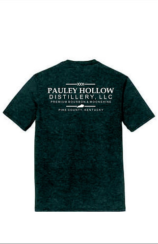 Pauley Hollow Distillery Logo T-Shirt