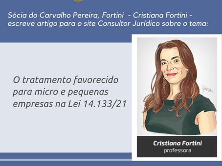 Site Conjur publica artigo de Cristiana Fortini