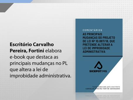 E-book sobre mudanças na lei de improbidade administrativa