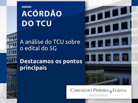 Pontos principais da análise do TCU sobre o edital do 5G