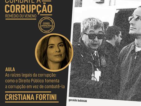 Sócia Cristiana Fortini ministra aula na Escola IREE