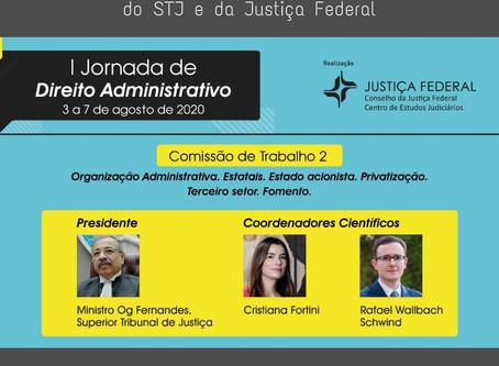 Sócias do escritório participam da Jornada de Direito Administrativo do STJ e da Justiça Federal