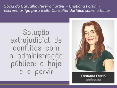 Solução extrajudicial de conflitos com a administração pública: o hoje e o porvir