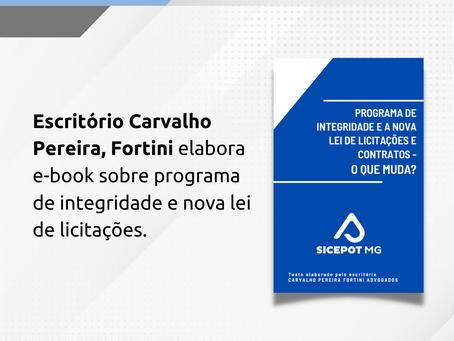 Escritório elabora e-book para SICEPOT-MG