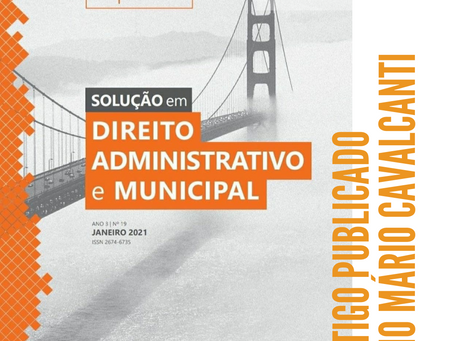 Caio Mário Cavalcanti publica artigo referente à atividade notarial e de registro