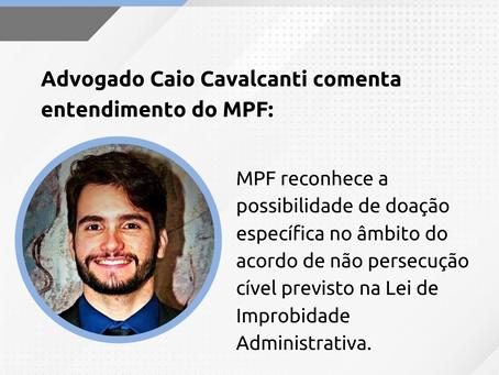 Comentário sobre entendimento do MPF