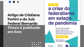 Artigo de Cristiana Fortini é publicado em livro
