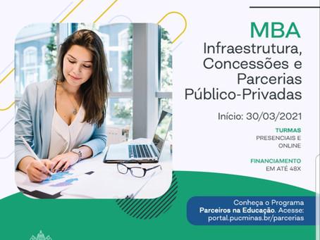 MBA Infraestrutura, Concessões e Parcerias Público-Privadas