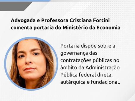 Destaques da Portaria sobre governança das contratações públicas