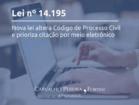 Comentário sobre nova Lei nº 14.195