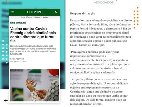 Entrevista. Implicações jurídicas para servidores pelo desrespeito à fila de prioridade da vacinação