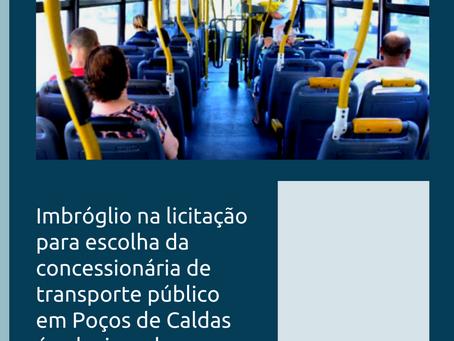 Licitação da concessionária dos serviços de transporte público em Poços de Caldas será concluída