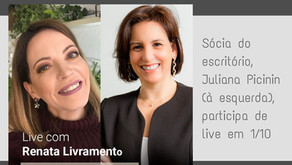 Juliana Picinin participa de live sobre Liderança, Compliance e Capitalismo