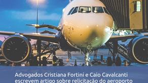 Artigo sobre relicitação do aeroporto de Viracopos