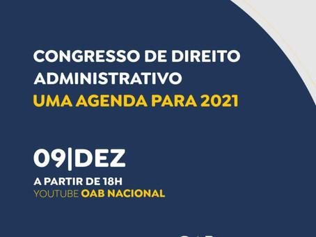 Cristiana Fortini participa do Congresso de Direito Administrativo da OAB Nacional