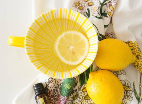 Essential Oils for Your Intention - Lemon