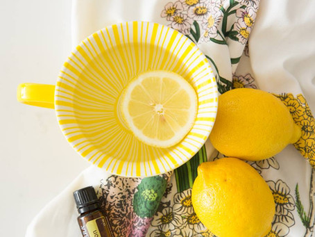 Essential Oils for Your Intention - Lemon