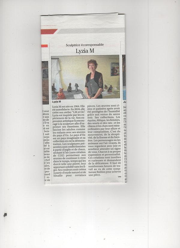 Articles du Petit Journal du Gers sur Lyzia M.