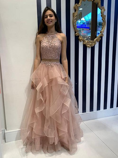Vestido de Debutante Rosa