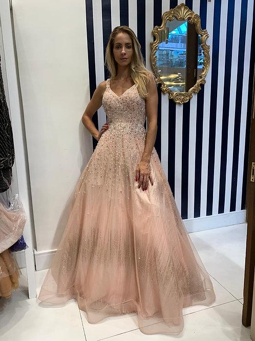 Vestido Estilo Princesa Bordado