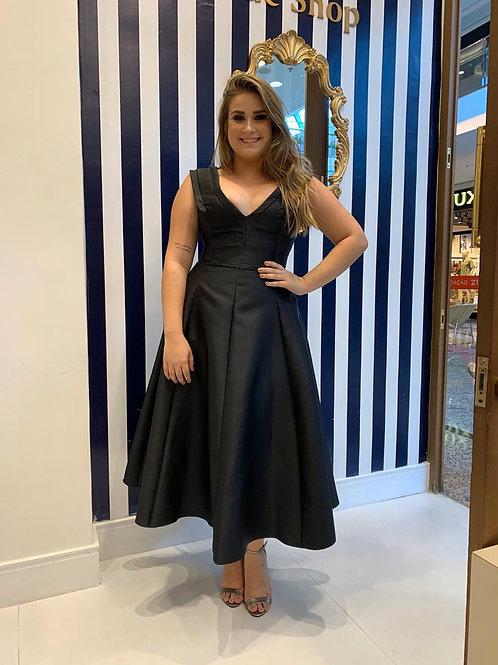 Vestido Midi Saia Godê