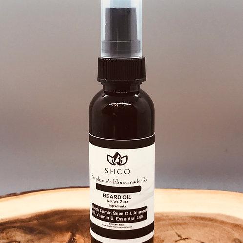 Natural Organic Moisturizing Beard Oil