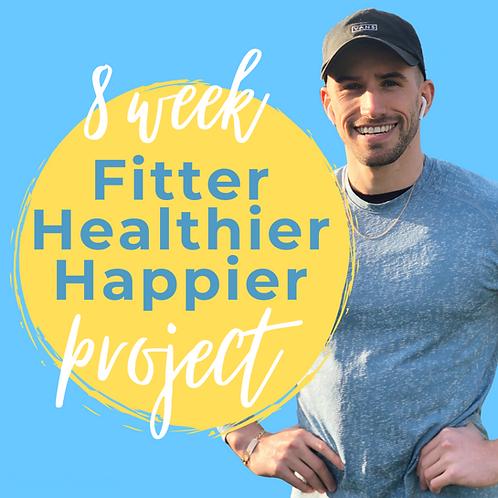 8 Week Fitter, Healthier, Happier Project