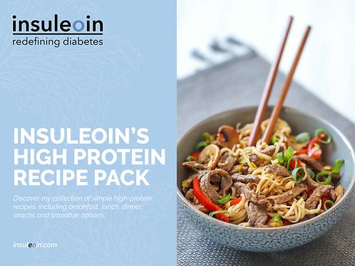 insuleoin's High Protein Recipe Pack
