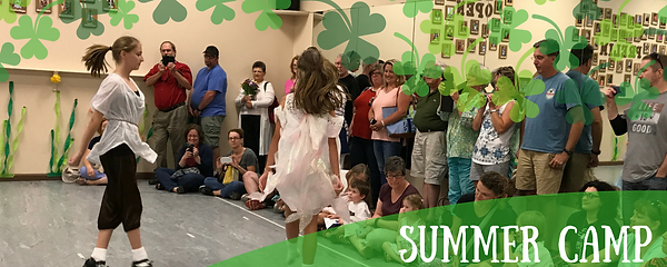 Irish dace,drama, theater, summer camp, performance, children