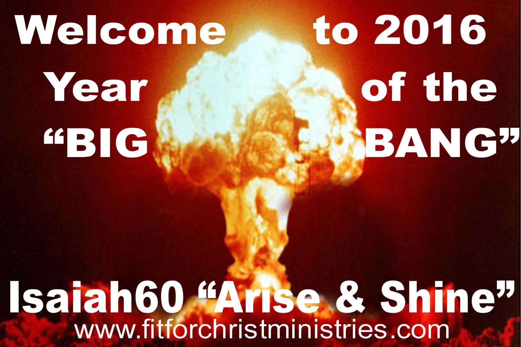 the Big bang 2016