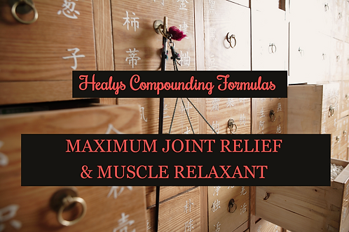 MAX JOINT RELIEF & MUSCLE RELAXANT
