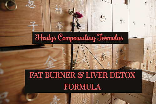 Healys Compounded Fat Loss-Detox