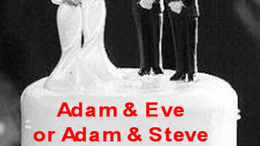 ADAM & STEVE or ADAM & EVE?