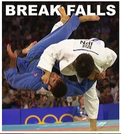 Break falls