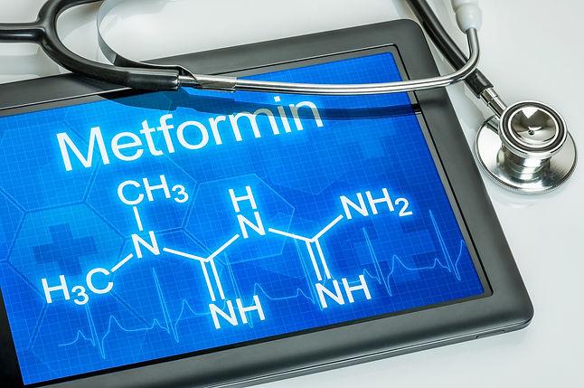 Tablet with the chemical formula of metf