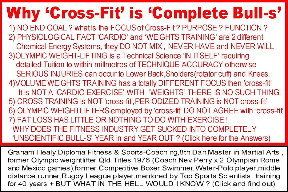 Cross-Fit is Complete Bull-S & Why