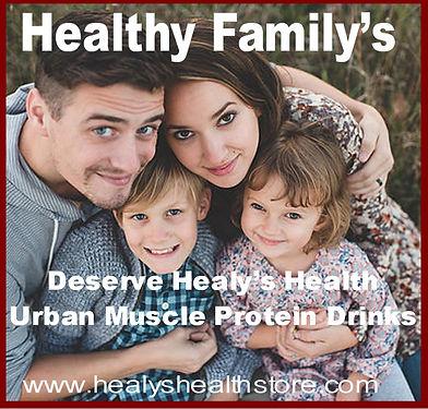 HealthyFamily's Deserve Optimum Nutrition