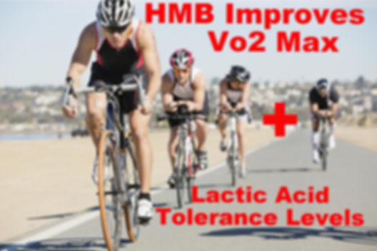 Cyclists Increase Vo2 Max + lactic Acid Tolarence Levels