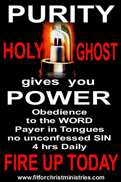 PRUTY GIVES YOU HOLY GHOST POWER