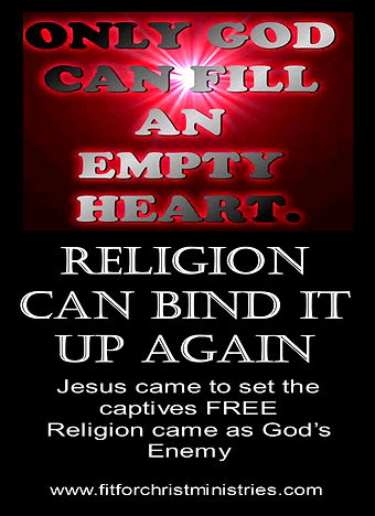 Religion can Bind it again